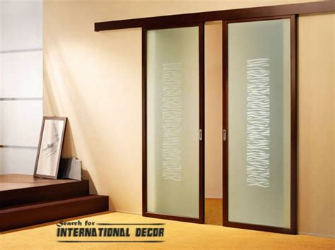 Sliding Glass Doors Interior Top Designs Of Interior Sliding Doors Trends