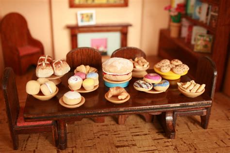 doll house food the craft arty kid old blog miniature food made with