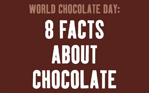 8 Facts About by Cocoa From World Chocolate Day 8 Facts About