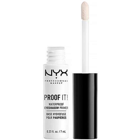 Nyx Proof It Eyeshadow Primer proof it eyeshadow primer transparent ulta