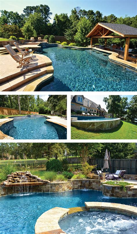 One From The You Are A Photo Pool You Are A by Swimming Pool Construction Amid Yard Slopes