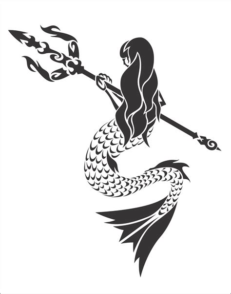 mermaid tribal tattoo octopus tribal recherche tattoos