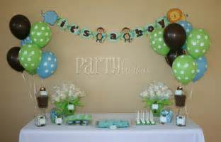 safari baby shower decorations partylicious partylicious and safari baby shower