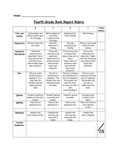 Historical Fiction Book Report Projects Fourth Grade Book Report Rubric Pdf Pdf Teaching