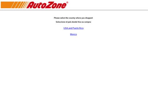 Autozonecares Com Sweepstakes - www autozonecares com autozone customer satisfaction survey
