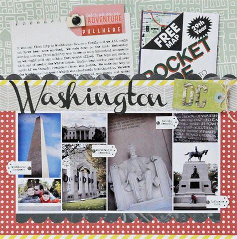Scrapbook Layout Washington Dc | washington dc scrapbook cards today