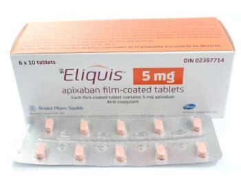 eliquis 5 mg tablet eliquis apixaban anticoagulant or blood thinner drugs