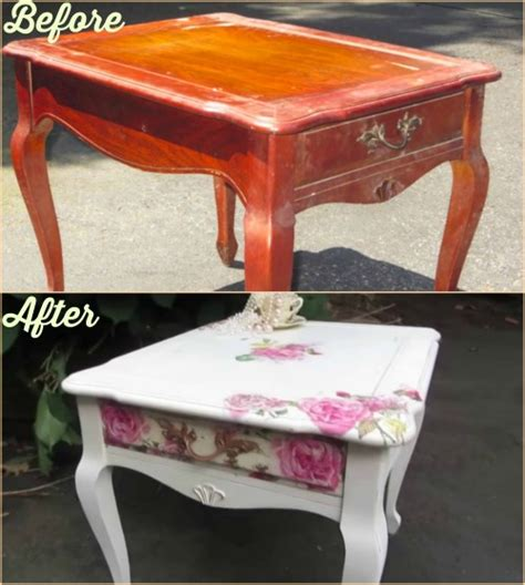 How To Do Decoupage On Furniture - fabartdiy decoupage furniture diy tutorial