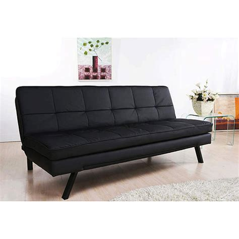 Walmart Leather Futon by Hemingway Convertible Futon Sofa Bed Walmart
