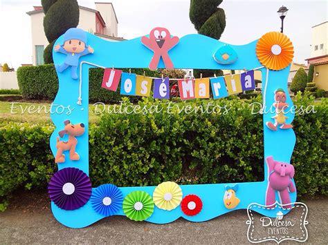 marcos de pocoy marcos infantiles para fotos marco para fotos pocoyo ni 241 o baby shower dulcesa