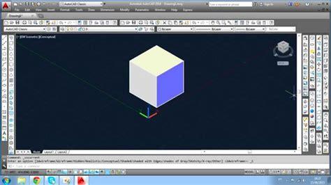autocad javascript tutorial autocad 3d tutorial cubo youtube