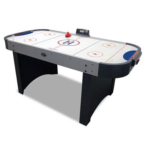 6 air hockey table 6 blade goal flex air hockey table gametablesonline com