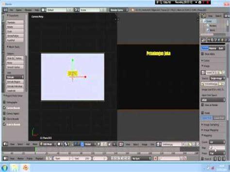 membuat game blender tutorial membuat menu game menggunakan blender youtube