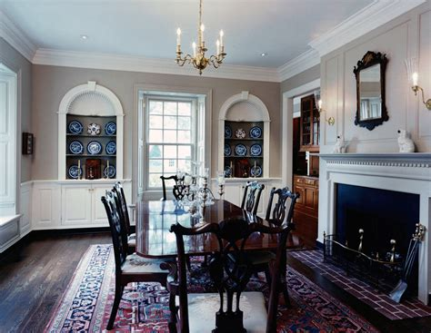 Colonial Dining Room by Colonial Dining Room Colonial Dining Room Decoration