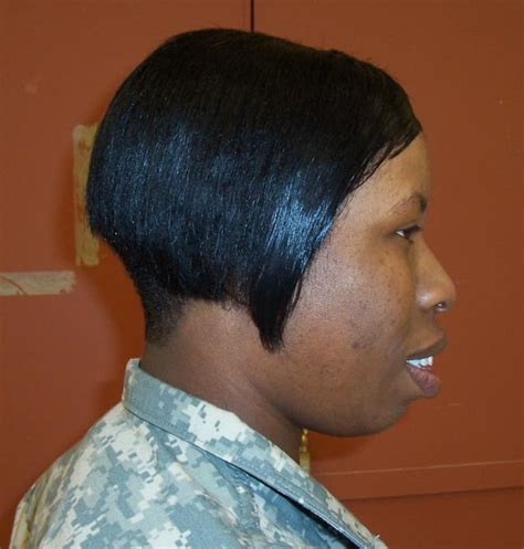 acceptable hair for women in army army hairstyles females