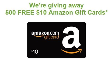 Amazon 10 Gift Card Free - enter to win a 10 amazon gift card who said nothing in life is free