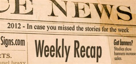 weekly recap the signs weekly recap february 20 24 signs