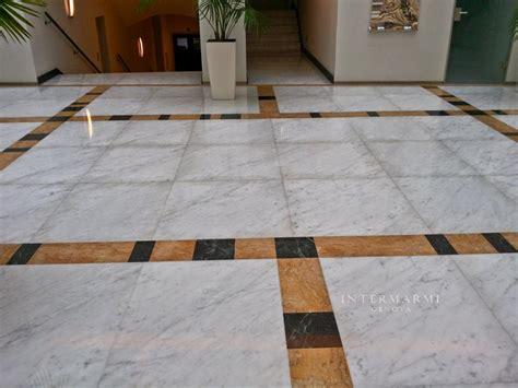androne di ingresso androne ingresso genova pavimento in marmo di