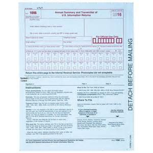 Irs Form 1096 Template by 2016 1099 Misc Tax Forms 5 Part Quickbooks Compatible