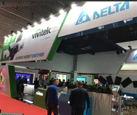Lu Projector Fino vivitek et affichage delta se rassemblent pour montrer
