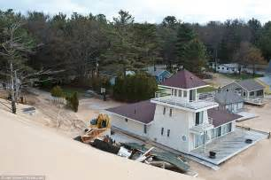 critical dunes emmet county michigan stops homeowners from removing sand from dunes daily mail