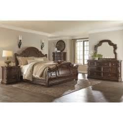 b715 florentown sleigh bedroom sets 4