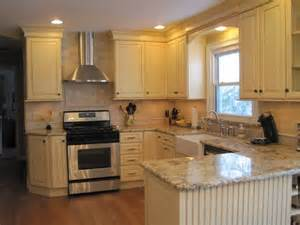 Small U Shaped Kitchen Remodel Ideas Ahh Love This Kitchen Dream Cabinets Countertops