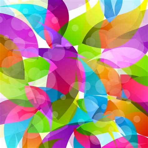 colorful design colorful abstract design vector illustration free vector
