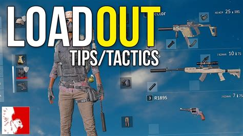 r pubg tips tips tactics the best loadout playerunknown s