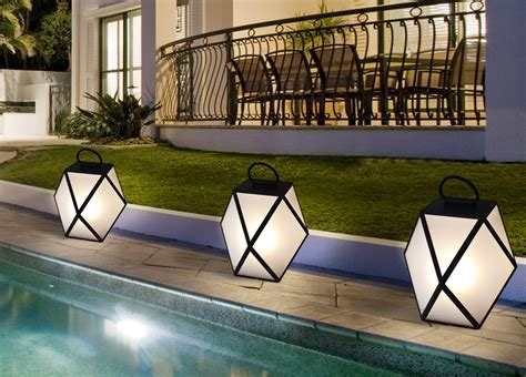 Contardi Muse Battery Powered Outdoor L Garden Battery Outdoor Lights