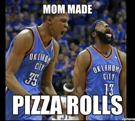 Pizza Rolls Meme - nba meme pizza rolls www imgkid com the image kid has it