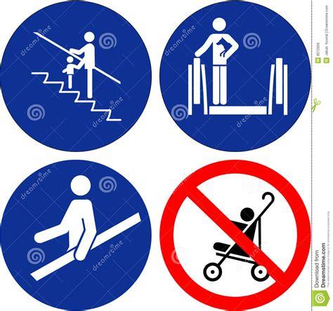 imagenes de simbolos juveniles conjunto de s 237 mbolos de la seguridad ilustraci 243 n del