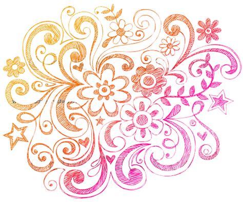 doodle flowers brushes notebook doodle flowers eezy brushes 123freebrushes