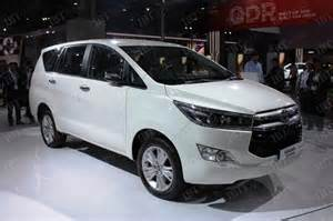 toyota innova price in india top model 2016 toyota innova crysta dealer level bookings open for