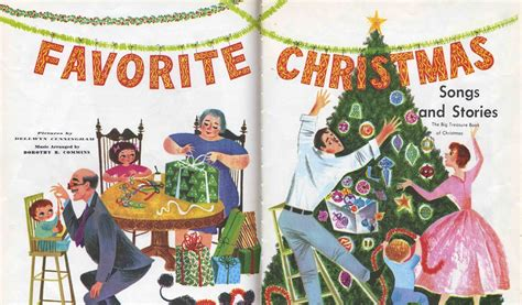 The Art Of Children S Picture Books Favorite Christmas