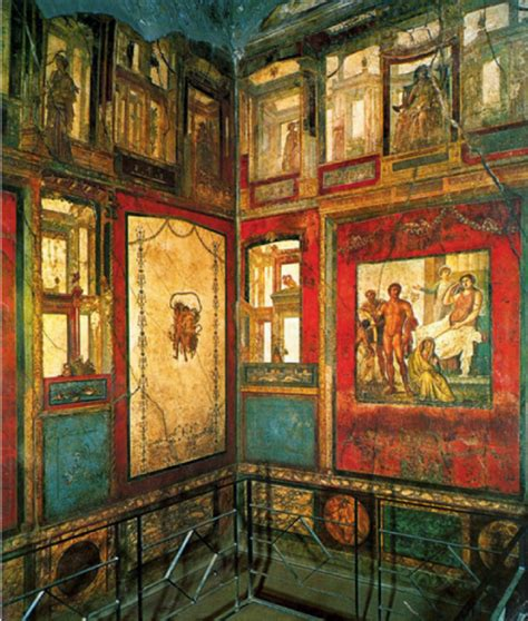 pompeii house of the vettii wall painting khan academy art the ixion room house of the vettii luxurious