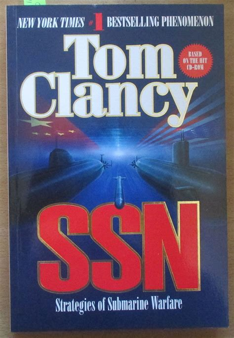 sub marine books ssn strategies of submarine warfare by tom clancy