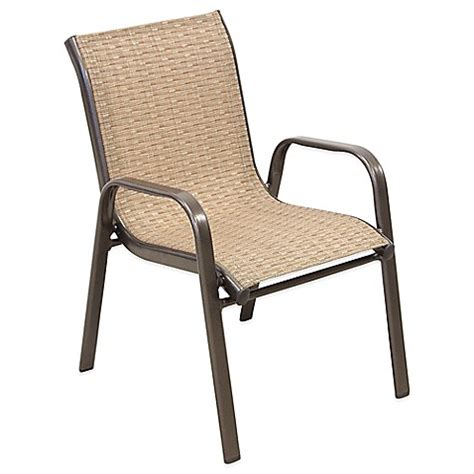 Child Patio Chair Buy Stacking Patio Chair From Bed Bath Beyond