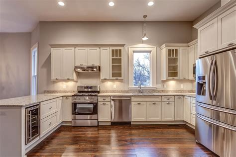 remodeled kitchens with painted cabinets white shaker cabinets kitchen photo gallery