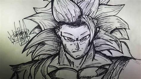 imagenes a lapiz faciles de goku bocetos de graffitis a lapiz como dibujar a goku ssj3 paso