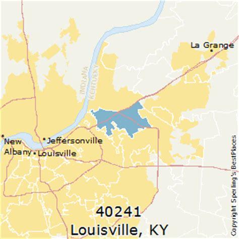 louisville zip code map best places to live in louisville zip 40241 kentucky