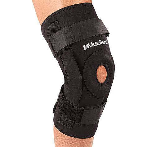 Support Walmart by Mueller Pro Level Hinged Knee Brace Deluxe Team Sports