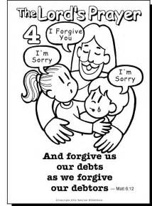 coloring pages about prayer free coloring pages of the our prayer