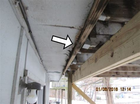 How To Attach Deck To House by Attaching Deck To House The Inspector