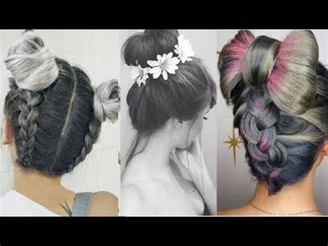 PEINADOS DE MODA 2017 TUMBLR Hairstyles   YouTube