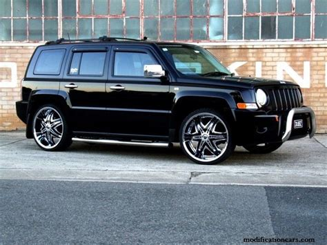 jeep patriot chrome rims modified jeep patriot chrome wheels modification of cars