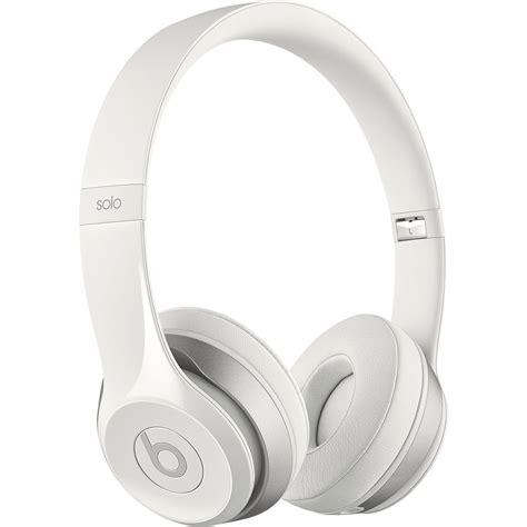 Headphone Beats 2 beats by dr dre solo2 on ear headphones white mh8x2am a b h