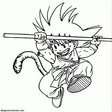 Imagenes Goku Pequeño | dibujos sin colorear dibujos de goku de peque 195 o