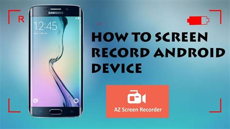 how to record screen on android how to screen record your android for free no root no computer record your android screen