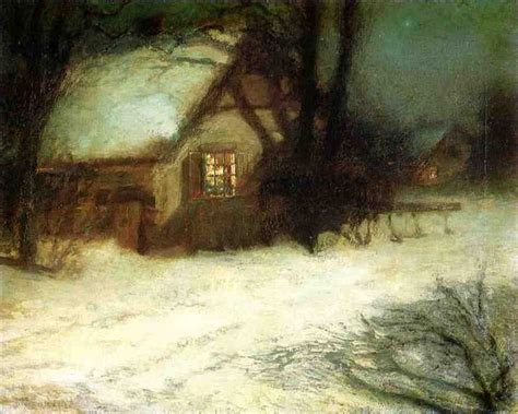 the christmas tree john henry twachtman wikiart org